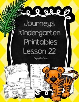 Journeys Lesson 22 Kindergarten Supplemental Materials