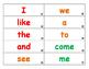 Houghton Mifflin Journeys Sight Word Flash Cards