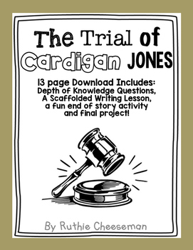 Houghton Mifflin Journeys: The Trial of Cardigan Jones