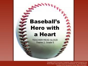Houghton Mifflin Reading Gr 5 Baseball's Hero with a Heart
