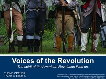 Houghton Mifflin Reading Gr 5 Voices of the Revolution Com