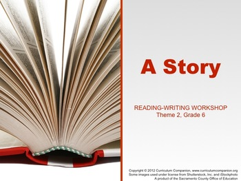 Houghton Mifflin Reading Gr 6 Writing: A Story Common Core