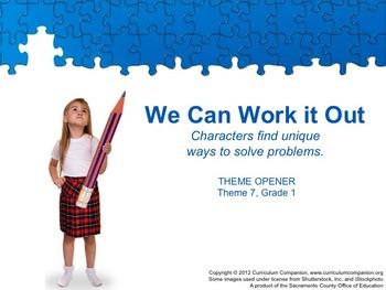 Houghton Mifflin Reading Grade 1 Theme 7 All Resources Com