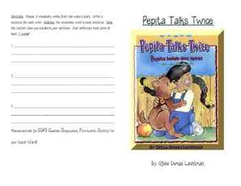 Houghton Mifflin Reading, Grade 3, Theme 6 activity bookle