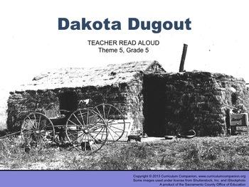 Houghton Mifflin Reading Grade 5 Dakota Dugout Common Core
