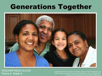 Houghton Mifflin Reading Grade 5 Generations Together Comm