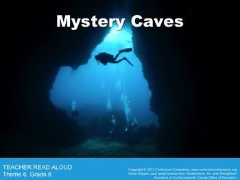 Houghton Mifflin Reading, Grade 6, Mystery Caves Common Co