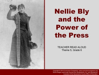Houghton Mifflin Reading, Grade 6, Nellie Bly ... Common C