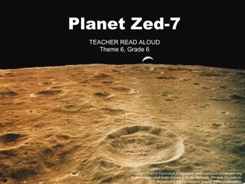 Houghton Mifflin Reading, Grade 6, Planet Zed-7 Common Cor