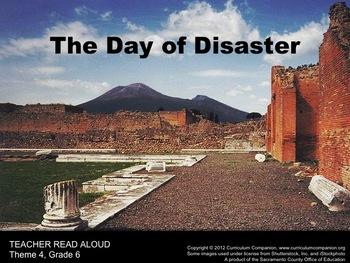 Houghton Mifflin Reading, Grade 6, The Day of Disaster Com