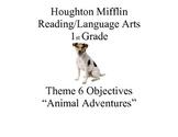 "Houghton Mifflin Reading Theme 6: ""Animal Adventures"" Prin"