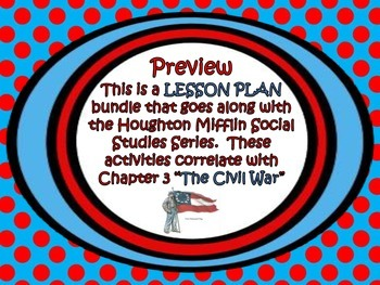 Houghton Mifflin Social Studies, 5th grade - Chapter 3 les