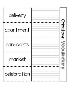 Houghton Mifflin Theme 3 Vocabulary