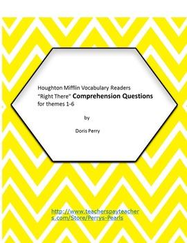 Houghton Mifflin Vocabulary Readers Second Grade  Comprehension
