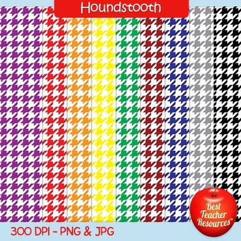 Houndstooth Backgrounds Clip Art