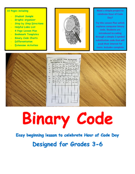 Coding Binary Code Computer Technology Literacy Easy Intro