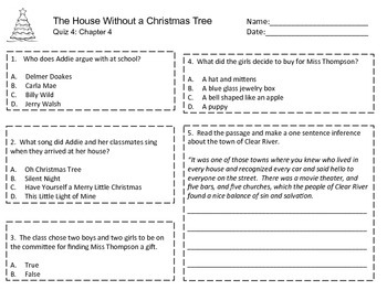 House Without a Christmas Tree Quizzes