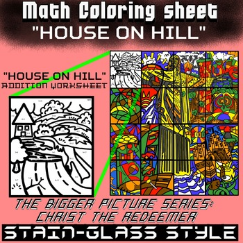 House on hill, Math addition - Bigger picture series (Redeemer)