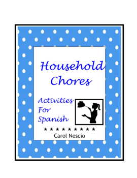 Household * Chores Activities For Spanish