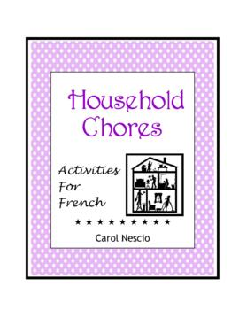 Household Chores * Activities for French