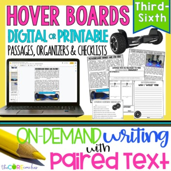Hoverboards Paired Texts: A Great Topic for Argumentative,