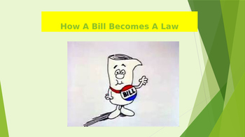 How A Bill Becomes A Law PPT