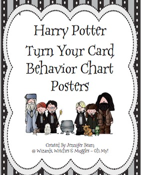 How Am I Doing Today? Classroom Harry Potter Theme Poster Set