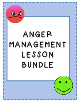 Anger Management & Self Regulation Lesson Bundle