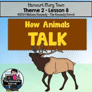 StoryTown Lesson 8 {How Animals Talk - 3rd Grade}