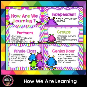 How We Are Learning