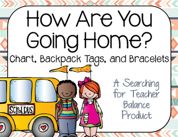 How Are You Going Home Chart [Tribal Soft Colors]