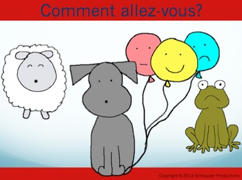 """""""How Are You?"""" in French with Pepper the Pooch"""