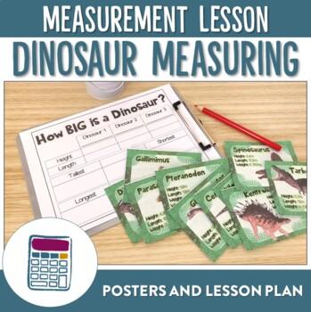 How Big is a Dinosaur? - Math Measurement (Length) Lesson