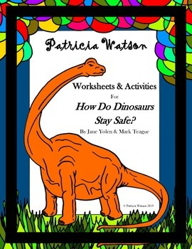 How Do Dinosaurs Stay Safe Worksheets