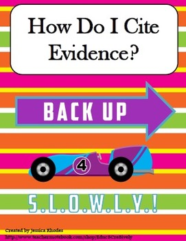 How Do I Cite Evidence?
