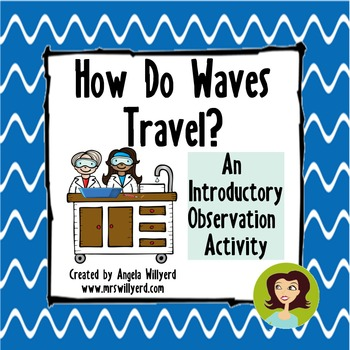 How Do Waves Travel? {Introductory Observation Activity fo