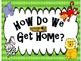 How Do We Get Home? Tansportaion Posters and Tags ** Edita