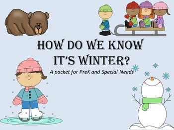 How Do We Know Its Winter?