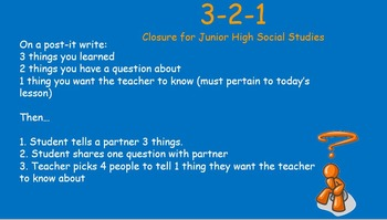Wrap Ups for Social Studies . . . Or Any Class!