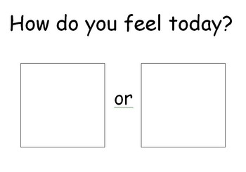 How Do You Feel Today Feelings File Folder