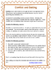 How Does Setting Contribute To Conflicts?  Handout and Gra