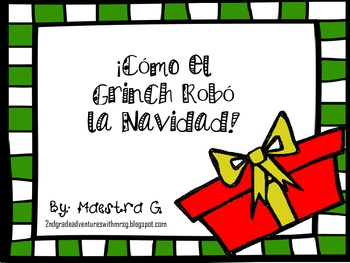 How Grinch Stole Christmas-Spanish Mini pack