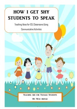 How I Get Shy Students to Speak!