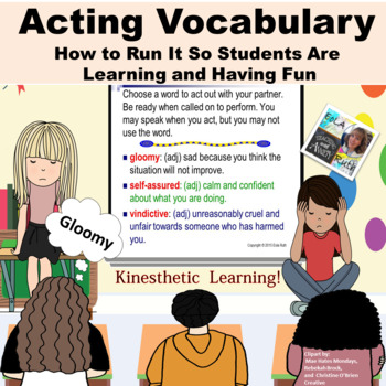 How to Run Acting Vocabulary so Students are Learning and