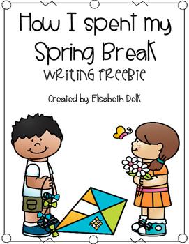 How I Spent My Spring Break Writing Freebie