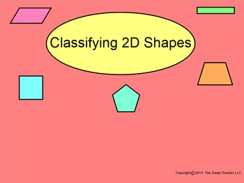 How I Teach Classifying 2D Shapes