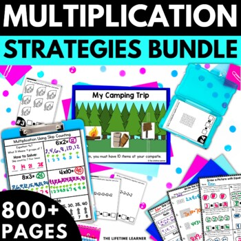 Multiplication (Strategies to Solve) BUNDLE!