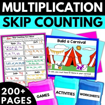 Multiplication Using Skip Counting