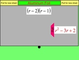 How I Teach Multiplying Binomials (Foil)