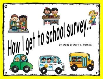 How I get to School - parent survey